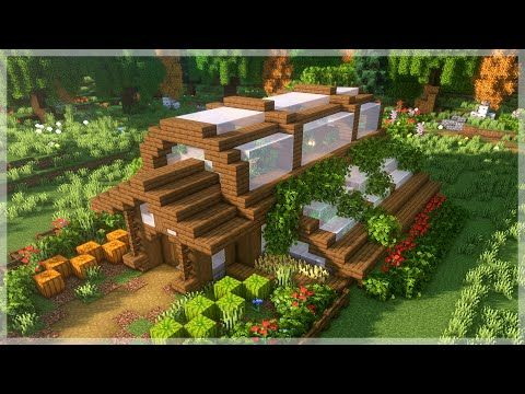 Minecraft: How to Build a Greenhouse