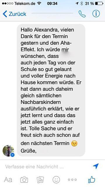 Florian - 9 Jahre - 3. Klasse: LRS - Lese-Rechtschreibschwäche und ...