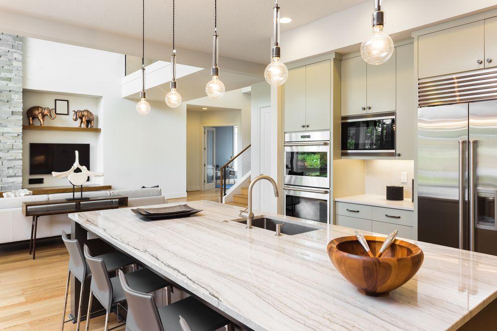 Kuche Wohnkuche Esstisch Esstischlampe Wohnideen Ideen Einrichtung