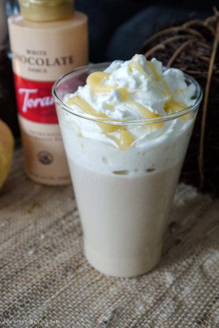 Copycat Starbucks White Chocolate Mocha Recipe White