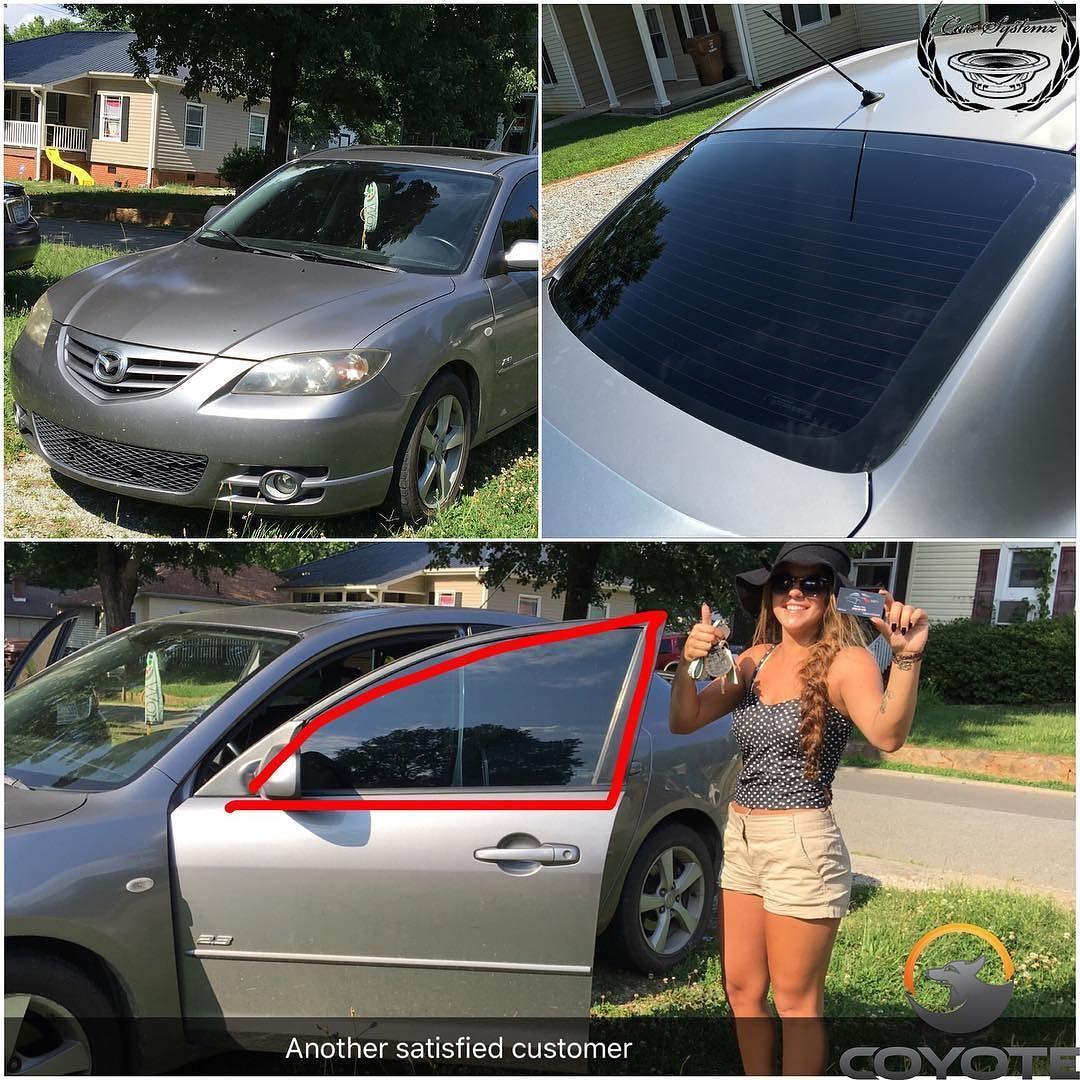 Tinted 5 VLT Mazda 3 silver Instagram, Instagram posts