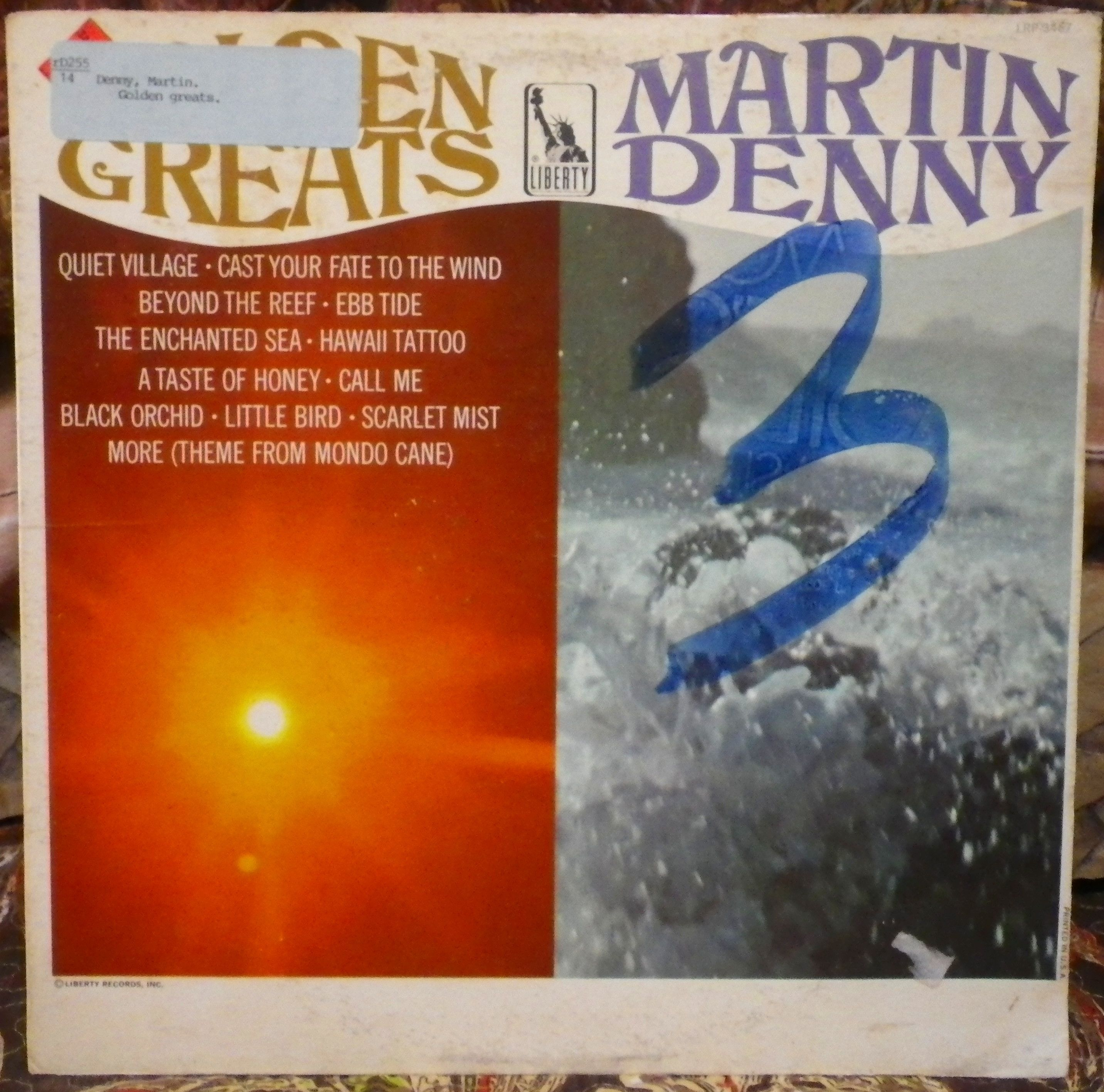 martin denny golden greats los angeles calif liberty records lrp 3467 mono no date exotica record my hawaiian exotica record collection  [ 2864 x 2832 Pixel ]