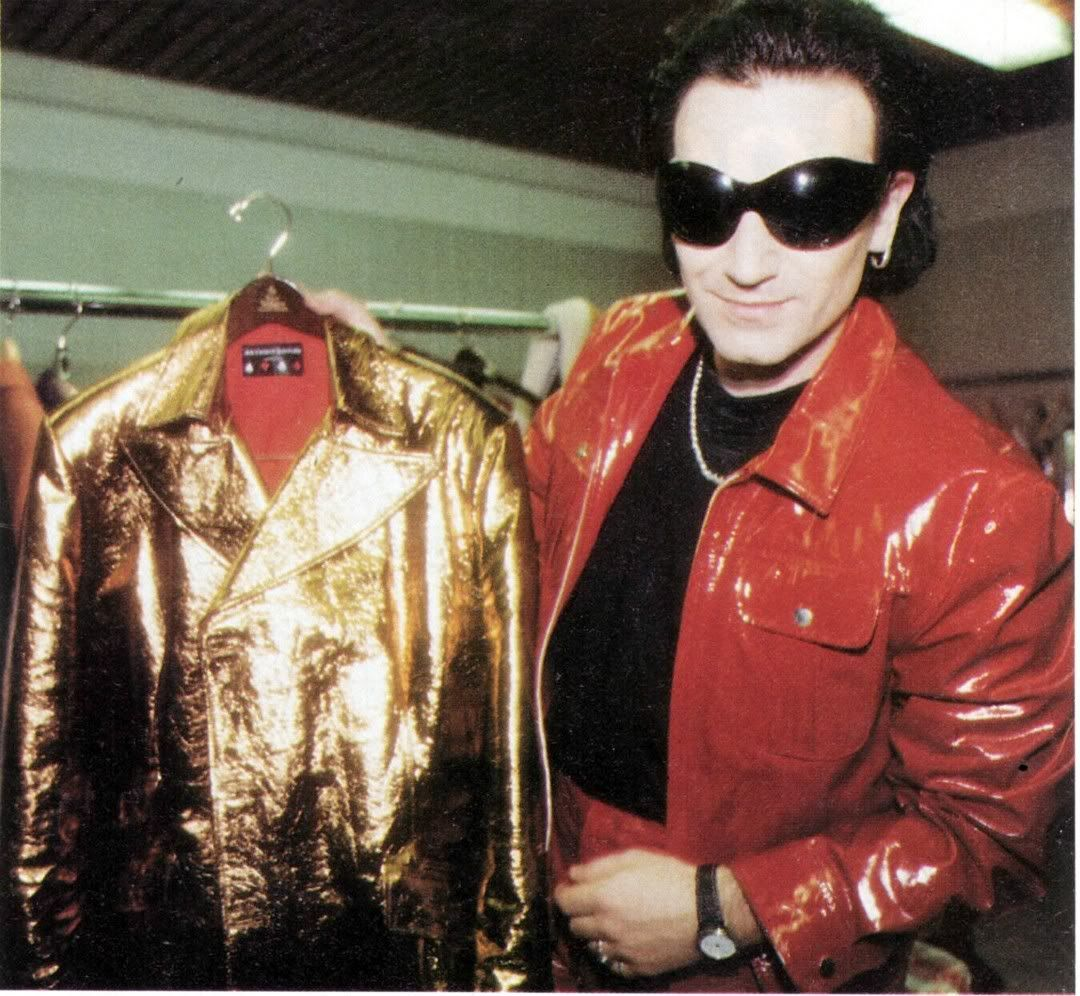 Pink Leather Jacket M Bono Rocks
