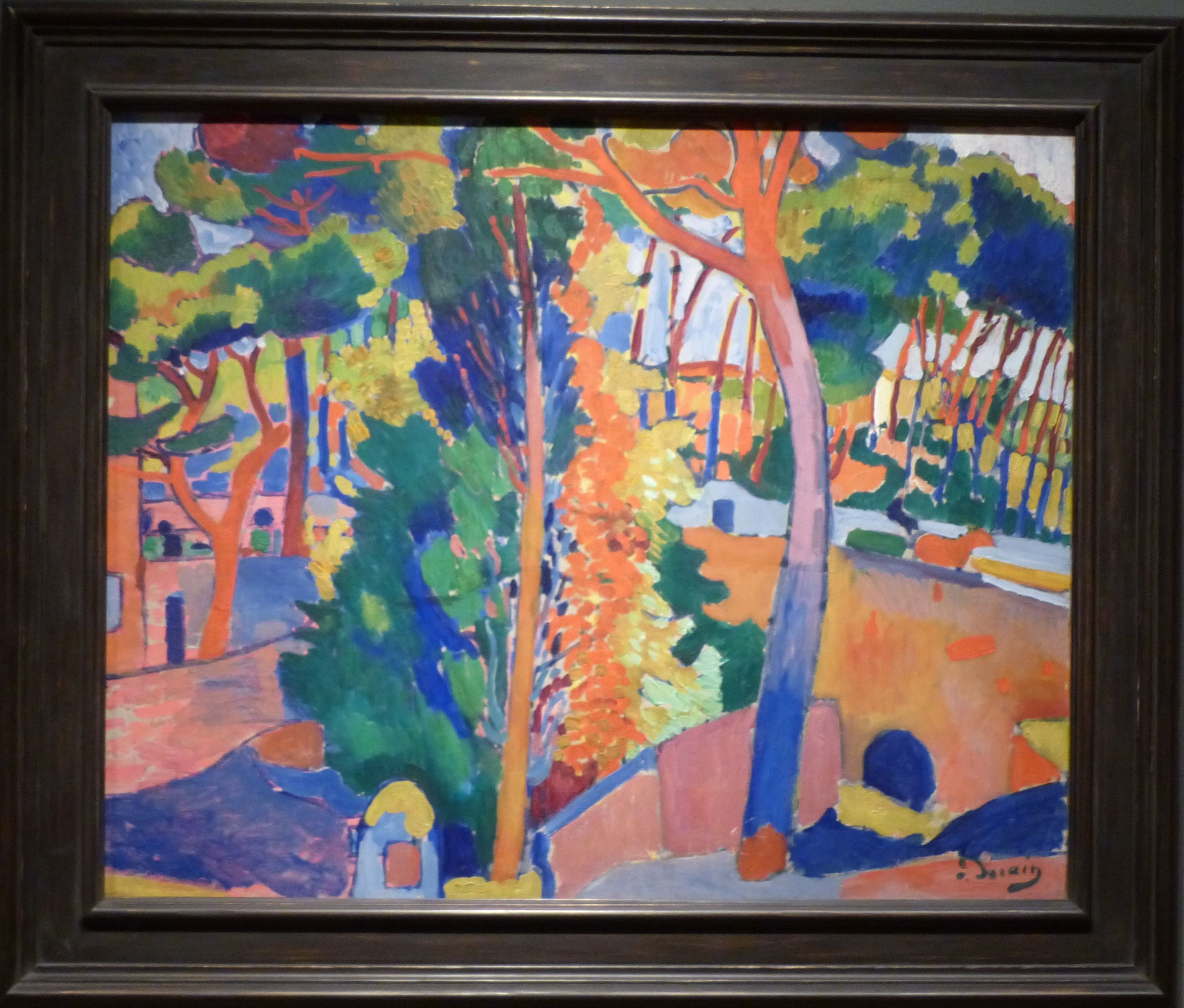 Bridge Over the Riou, Andre Derain (Paley Collection, MoMA)