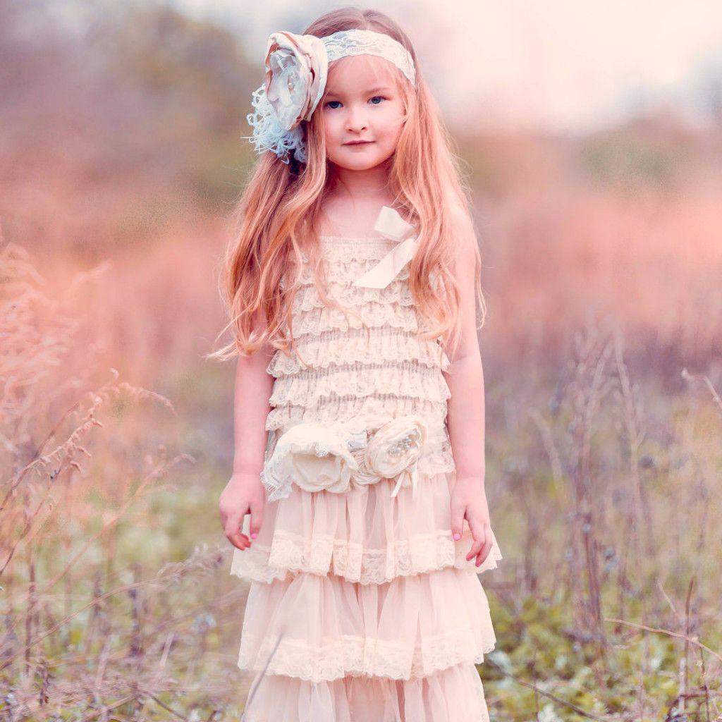 Hannah Lace Ruffle Dress   Daminha anos 20   Pinterest
