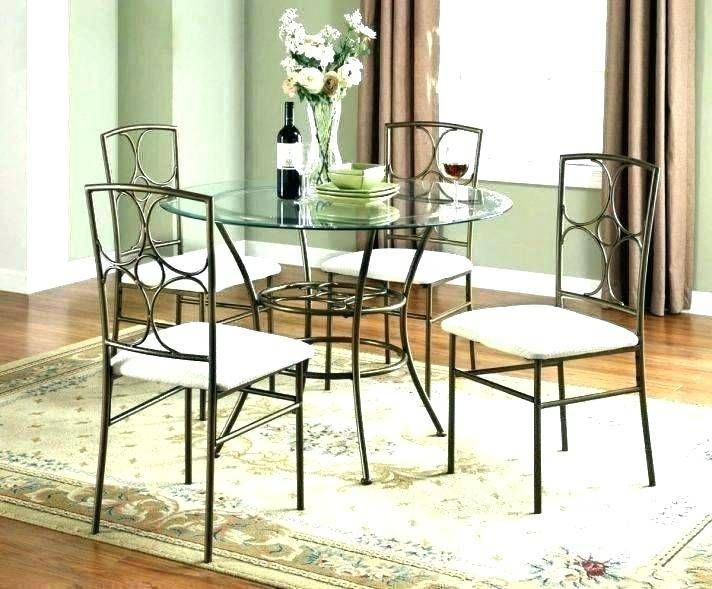 Inspiring Dining Table And Chairs Clearance Small Glass For Black Set Room Sets Furnit In 2020 Small Round Kitchen Table Round Dining Room Table Small Space Dining Set