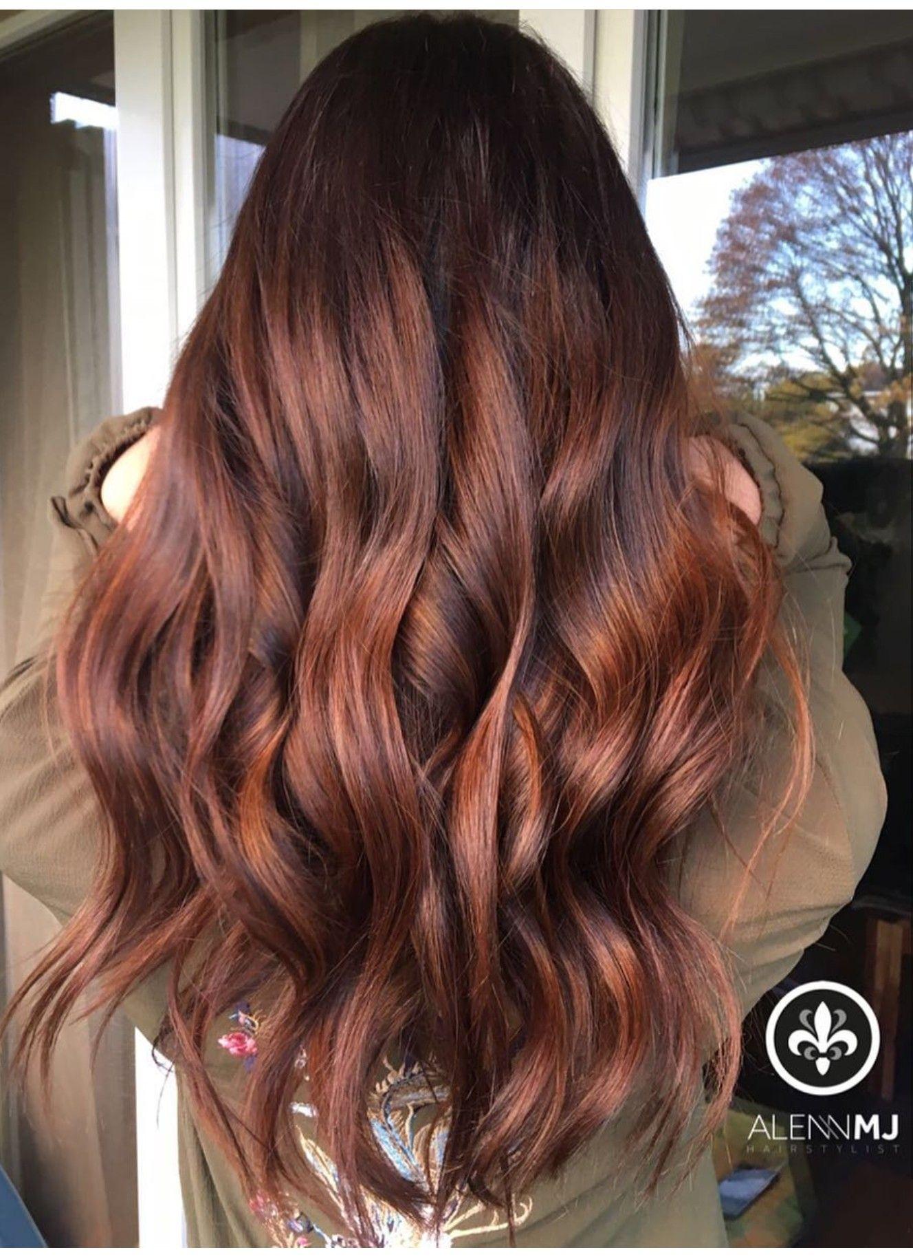 Pin By Lauren Maddison On Hair Pinterest Hair Auburn Hair And