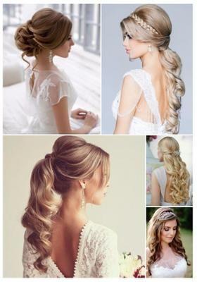 Lo mas nuevo en peinados para novia