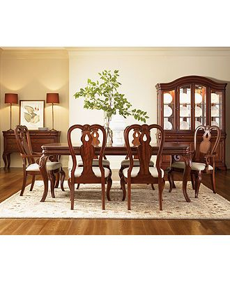 Bordeaux Louis Philippe Style Dining Room Furniture Collection Dining Room Furniture Collections Closeout Furniture Furniture