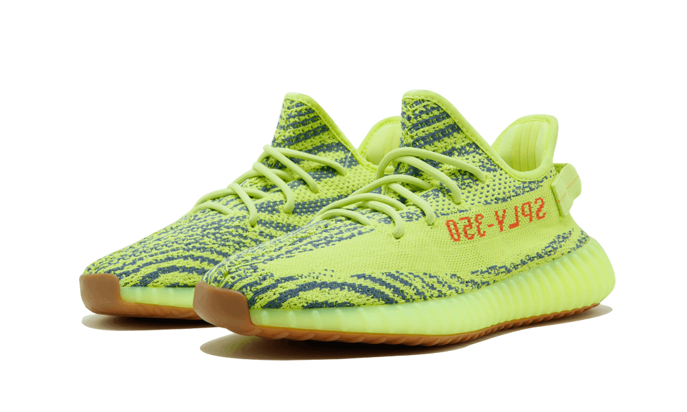 a566fc0abed3c Adidas Yeezy Boost 350 V2 Sefrye Rawste  Semi Frozen Yellow ...