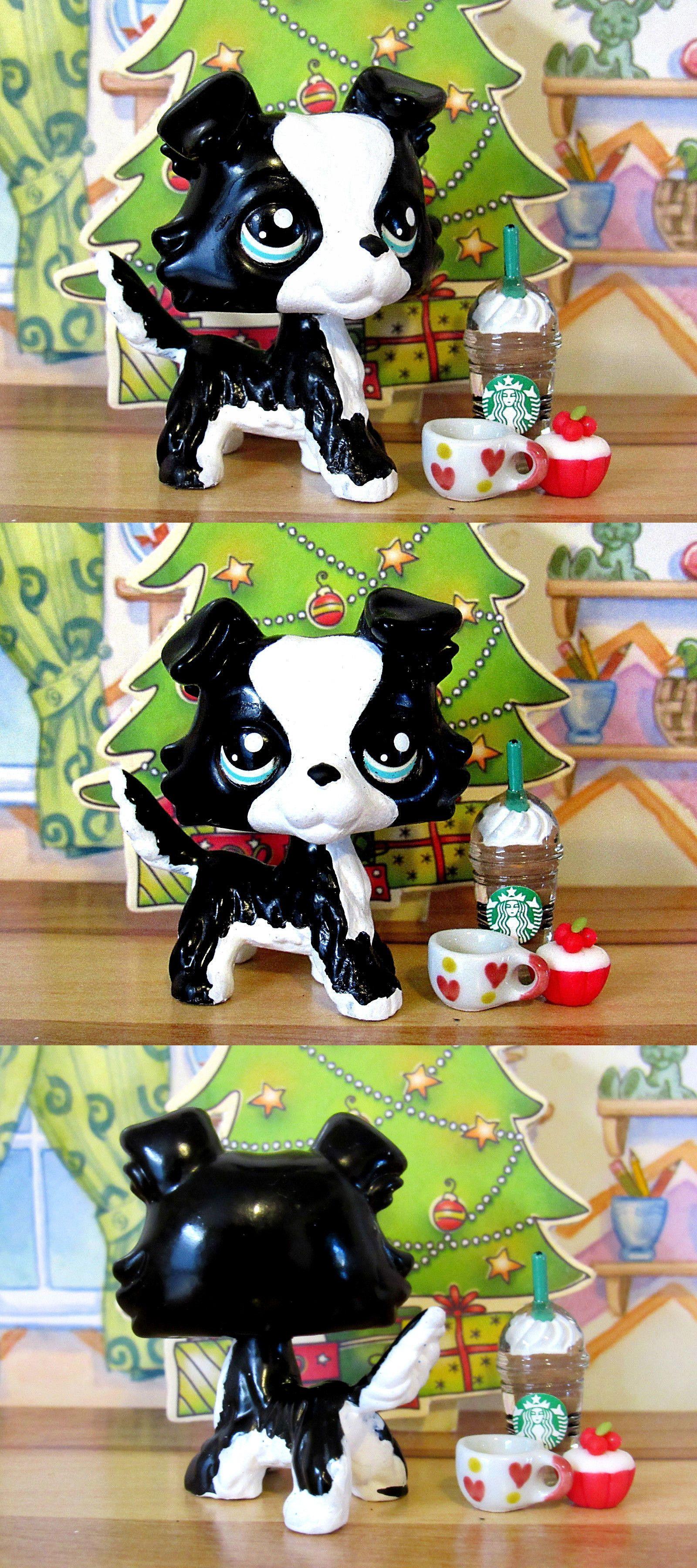 Littlest Pet Shop 150925 Littlest Pet Shop Ooak Border Collie Dog