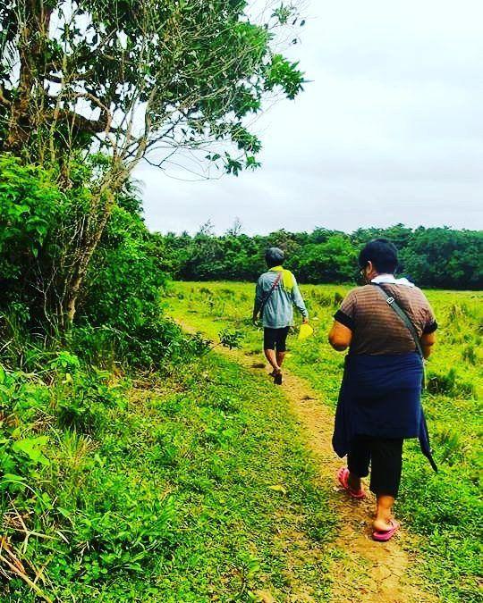 Trek from Baratobot Falls via Lagunzad Trail Palaui Island