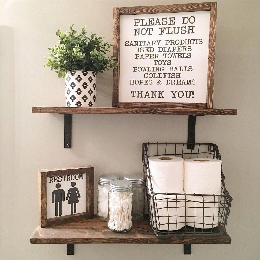 85 Charming Rustic Bedroom Ideas And Designs 4 In 2020: Pin On Farmhouse Bathroom Decor