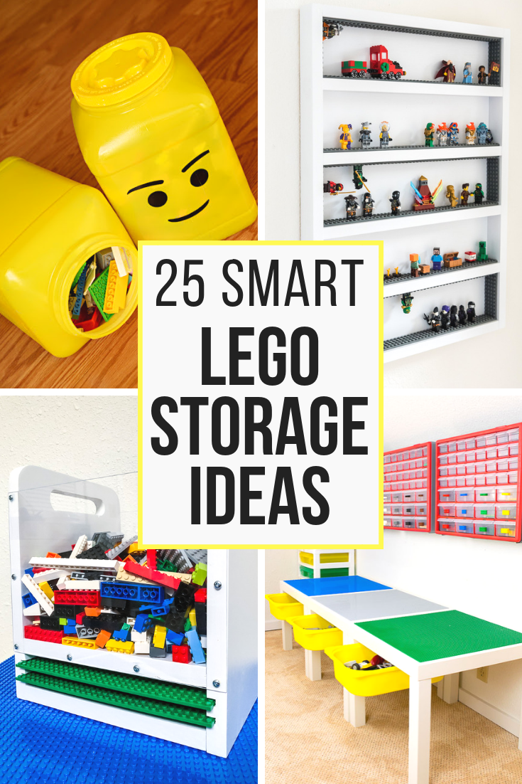 25 Lego Storage Ideas To Save Your Sanity Lego Storage Lego