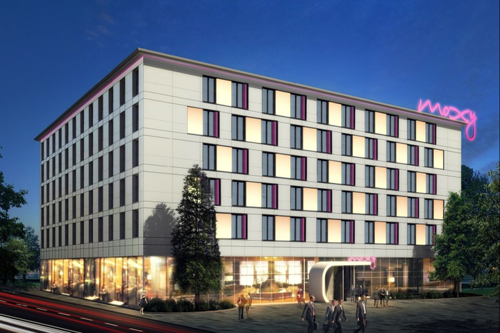 Enjoy Your Hotel Stay Near The Frankfurt Germany Airport Moxy Boasts A Contemporary Style With Modern Amenities And Rooms