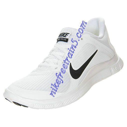Nike Free 4.0 V3 Womens White Black White 580406 101 | Nike