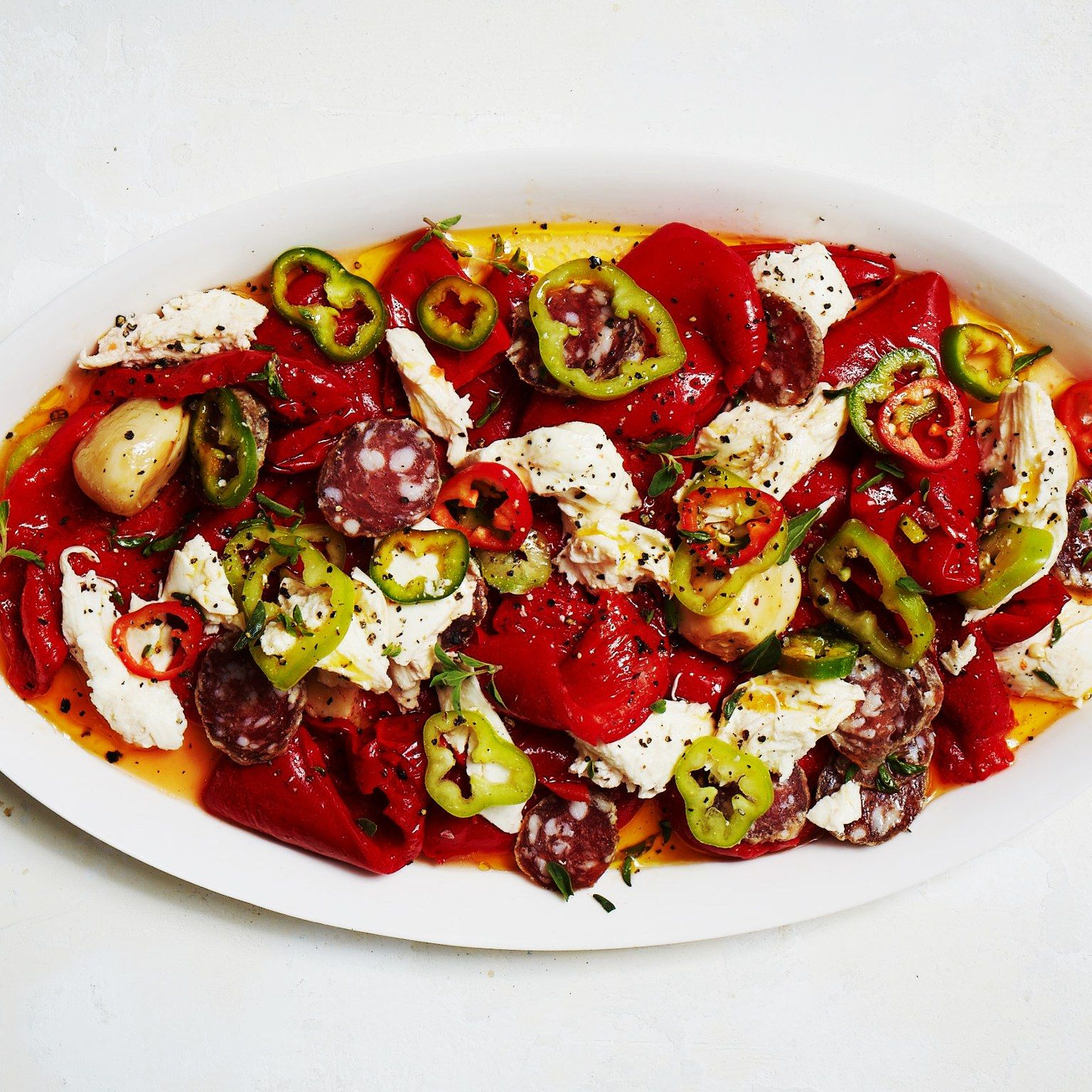 Once you get hooked on fresh chiles, you'll want to pack them into everything you cook—including your antipasto.