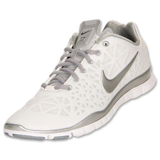 06ecb8347012 Womens Nike Free TR Fit 3 Summit White Metallic Silver