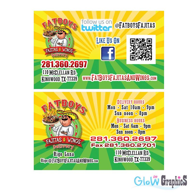 Glow in graphics digital printing houston tx business cards glow in graphics digital printing houston tx business cards design reheart Choice Image