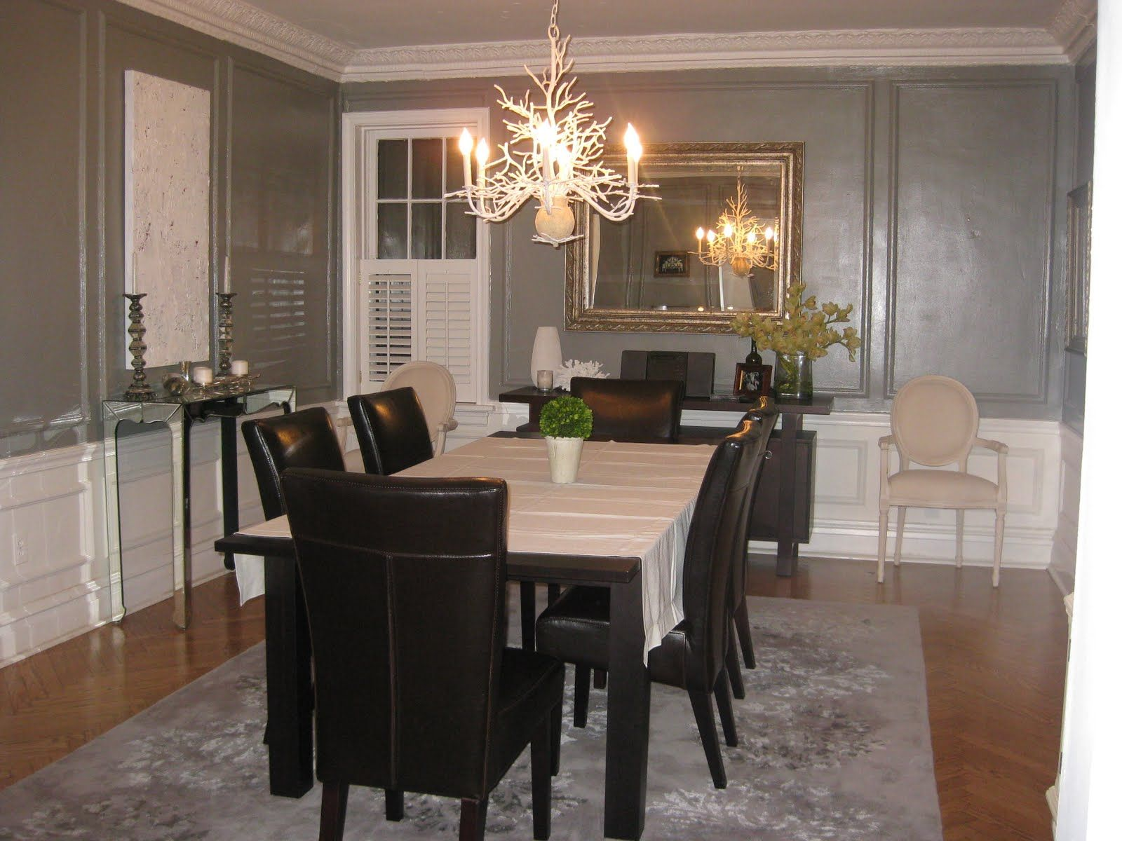 Pics Of Grey Dining Room | ... Gray Dining Rooms Super Chic And I