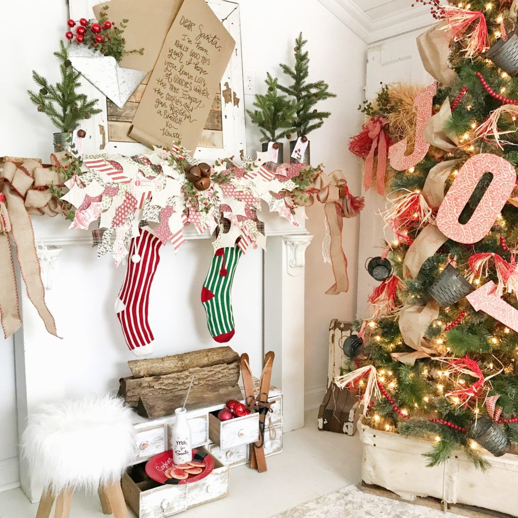 A Farmhouse Christmas with Hobby Lobby Farmhouse
