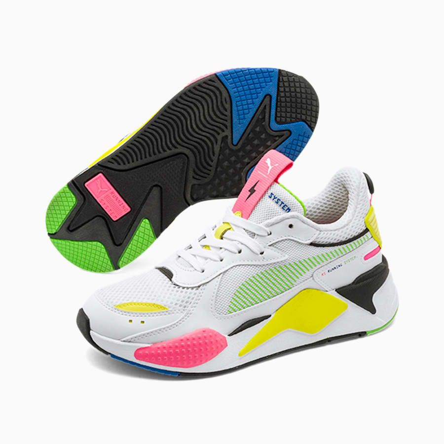 Oh querido desconcertado carne  PUMA Chaussure Baskets RS-X Thunder Glow by Pedroche, Blanc, Taille 40,5,  Chaussures in 2020 | Trainers, Sneakers, Thunder