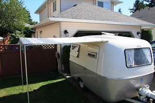 Boler Bag Awning Should I Buy 7 Foot Or 8 Foot Scamp Trailer Vintage Campers Trailers Trailer Awning