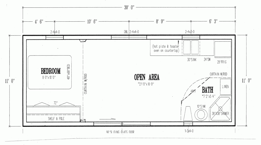 Swanson Associates' non-toxic trailers. They're a bit odd looking, but maybe worth it to have non-toxic, especially if more affordable than others. This plan is 30' x 11', 330 sf.