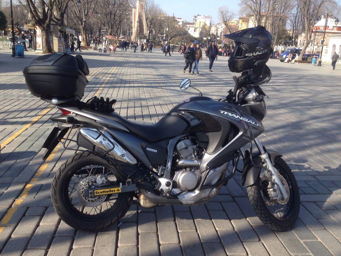 My new TransAlp Honda