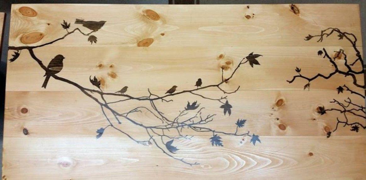 Enchanting Wooden Bird Wall Art Ornament - Art & Wall Decor ...