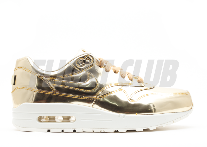 Nike Air Max 1 SP I Liquid Gold Metal Sz 12 New Ds Element Nikelab Qs Silver 90