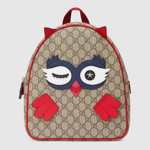 14475cdc49903c Gucci Children's Bag Collection 2017 - owl backpack | Owl Products I ...