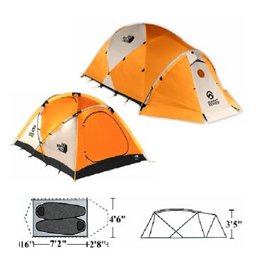 tent the north face mountain 25