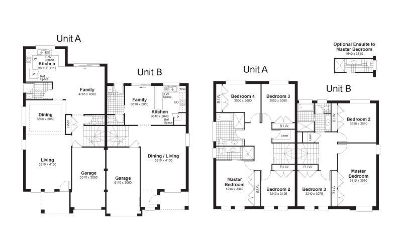 Twin oaks floorplan house plan pinterest twins duplex house twin oaks floorplan duplex house designcrosswordfloor malvernweather Choice Image