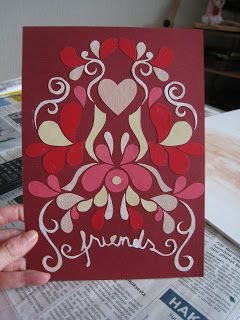 Card made for a friend.