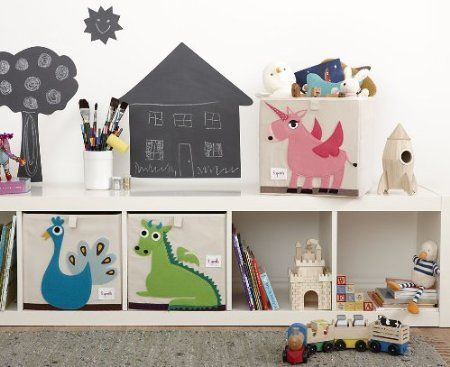 ikea + sprout storage boxes