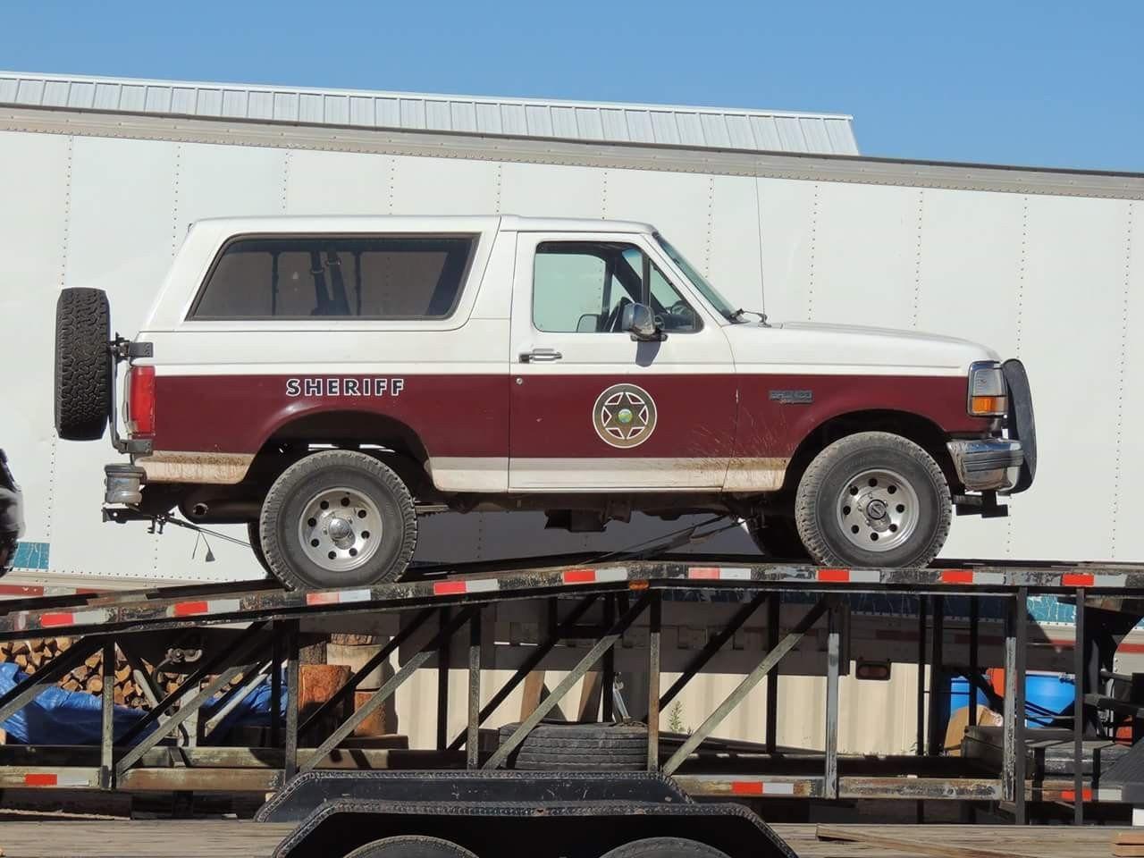 Longmire walts ford bronco classic trucks ford trucks