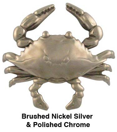Crab Door Knocker Because 125 For A Crab Shaped Brushed