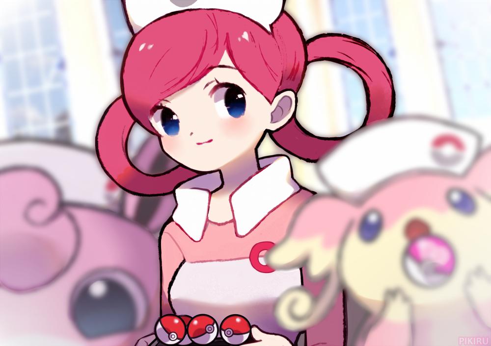 Nurse Joy By Pikiru Joy Art Pokemon Joy