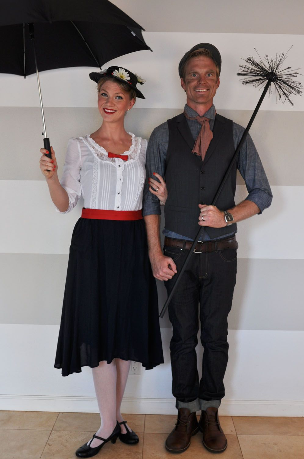 Easy DIY Mary Poppins and The Chimney Sweep Costumes! | fall ...