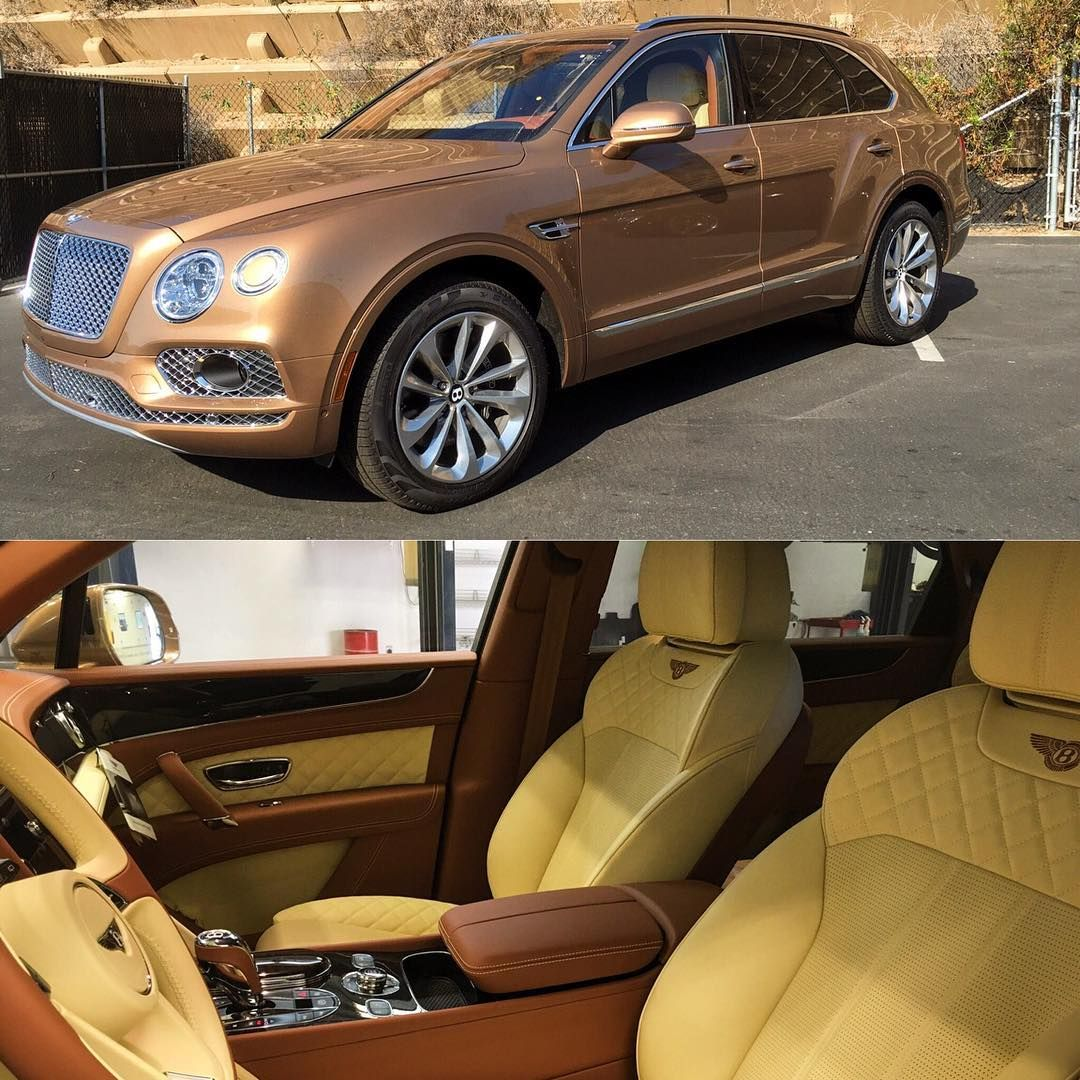 Bentley Truck Yellow And Brown Interior Bentley Mulsanne