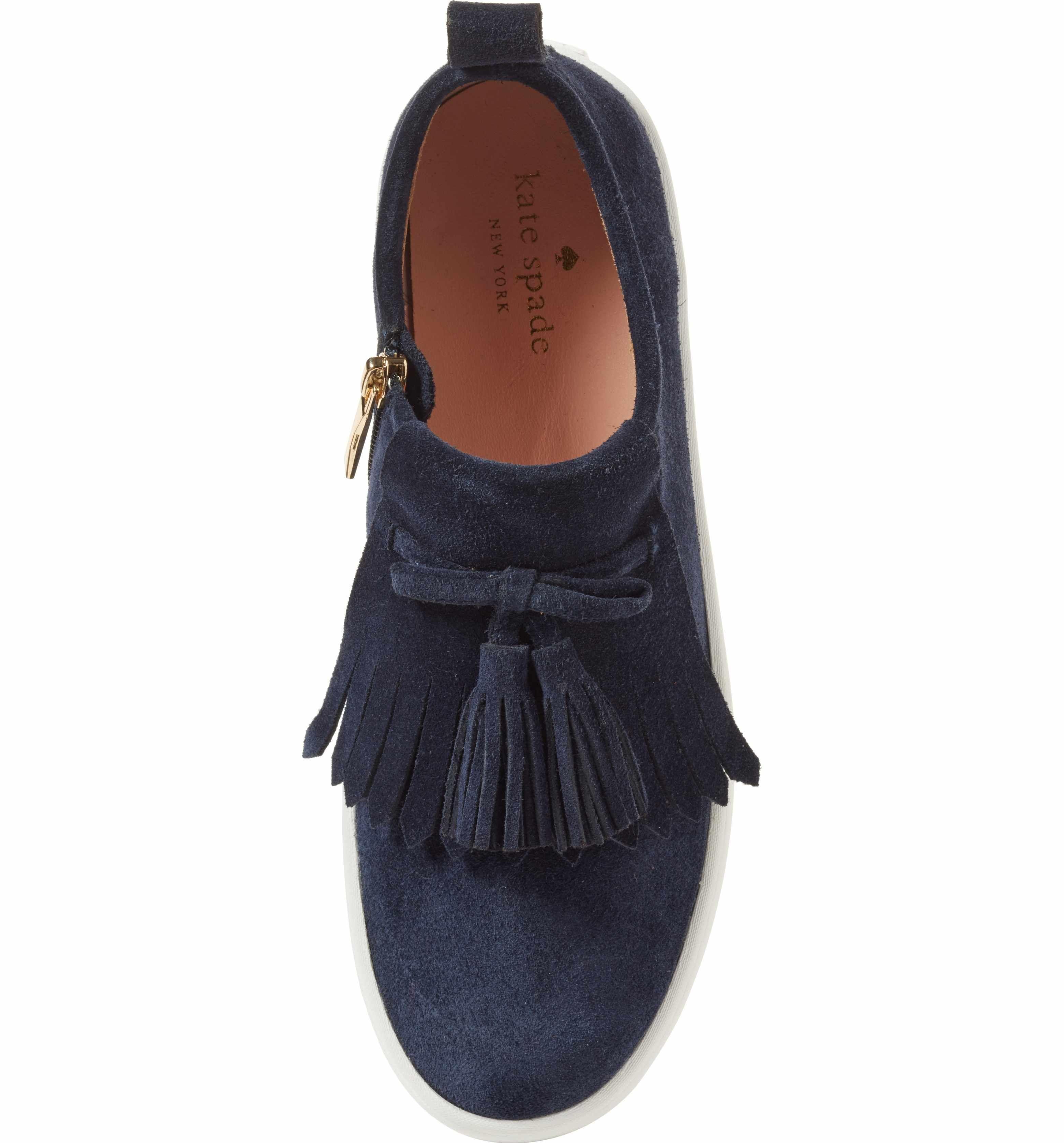 b848a094da34 Main Image - kate spade new york lenna tassel sneaker (Women)