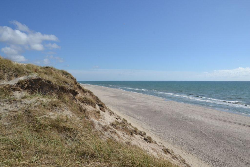 Usædvanlig Strand an der Nordseeküste von Dänemark bei Hvide Sande WI68