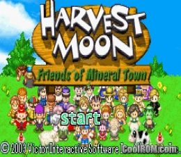 Harvest Moon Friends Of Mineral Town Rom Download For Gameboy