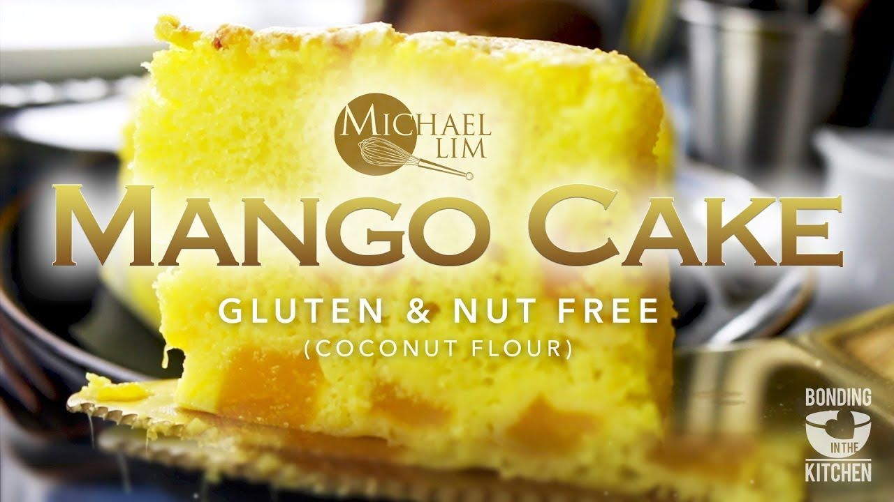 Moist Mango Cake Gluten Nut Free Coconut Flour Mango Dessert Recipes Mango Dessert Mango Cake