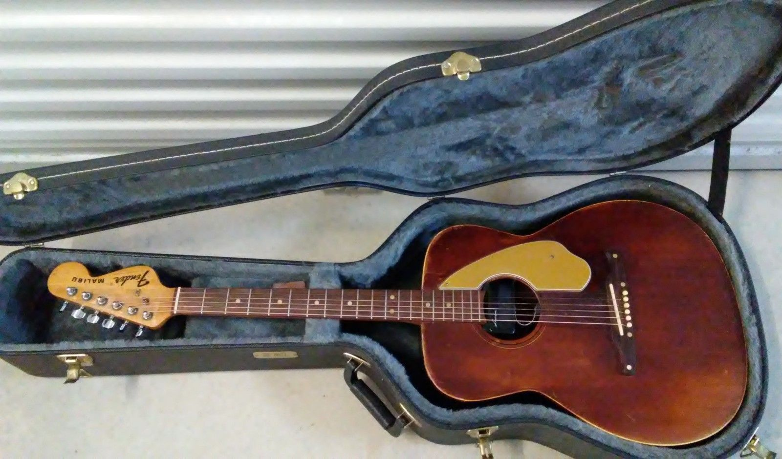 Guitar Fender Usa Malibu Acoustic Guitar Vintage 1960 S With Tkl Hard Case Please Retweet Fender Usa Fender Vintage Classic Guitar