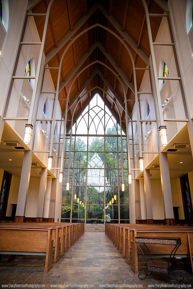 Fellowship Of The Woodlands Chapel In Woods Tx Wedding Photographer Houston Stacy Anderson Photography