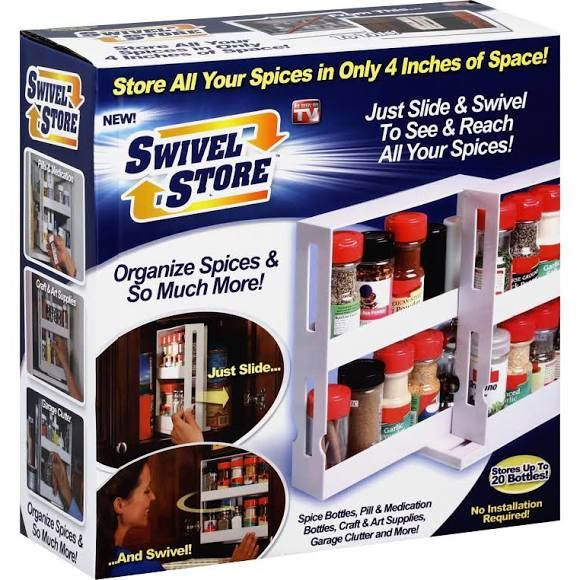 As Seen On Tv Spice Rack As Seen On Tv Swivel Store Spice Organizer  Life After Divorce