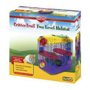 Kaytee Crittertrail Two Level Habitat Cages Petsmart Pet