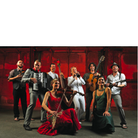 """20th September: """"Britain's best klezmer and Balkan music band"""" She'koyokh perform at The Forge"""